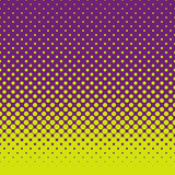 Abstract halftone dot pattern background. Abstract colorful halftone dot pattern background - vector graphic Royalty Free Stock Image