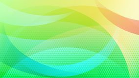 Abstract halftone dots background. Abstract colored background of curved lines, curves and halftone dots vector illustration