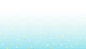 Abstract halftone dots background Stock Photography