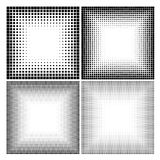 Abstract halftone dots for grunge background vector illustration