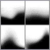 Abstract halftone dots for grunge background Stock Image