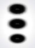 Abstract halftone dots for grunge background Royalty Free Stock Images