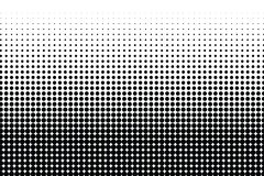 Abstract halftone dotted monochrome texture. Vector background. Modern simple backdrop for posters, sites, business. Abstract halftone circle monochrome texture stock illustration