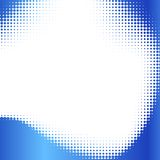 Abstract halftone frame. Royalty Free Stock Photography