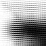 Abstract halftone geometric background. Vector illustration Royalty Free Stock Photo