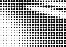 Abstract halftone gradient background Stock Image