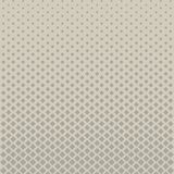 Abstract halftone grey square pattern on brown background, Vecto Stock Photography