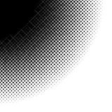 Abstract Halftone Grid Design Stock Images