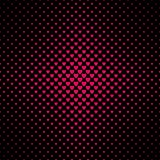 Abstract halftone hartpatroon als achtergrond Stock Foto