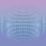 Abstract halftone light blue background. Vector illustration Stock Photo