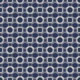 Abstract halftone naadloos patroonontwerp Royalty-vrije Stock Afbeeldingen