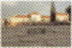 Abstract halftone patroon Stock Foto
