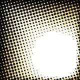 Abstract halftone patroon vector illustratie