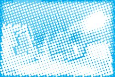 Abstract halftone pattern. Stock Photos