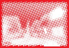 Abstract halftone pattern. Royalty Free Stock Photo