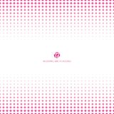 Abstract halftone pink color on white background for wedding car. D. Vector illustration Vector Illustration