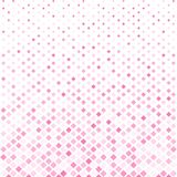 Abstract halftone pink square pattern background, Vector modern Royalty Free Stock Image