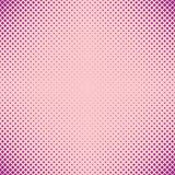 Abstract halftone rounded square pattern background - vector design with diagonal squares Stock Image