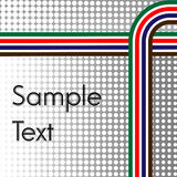 Abstract halftone stripes line background Stock Photos