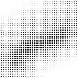 Abstract halftone van de golfgradiënt element als achtergrond Royalty-vrije Stock Foto