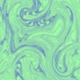 Abstract halftone vloeibaar de textuurmalplaatje van de pop-art grappig stijl Stock Afbeeldingen