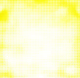 Abstract halftone yellow background Stock Photo