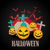 Abstract halloween art Stock Photography