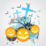 Abstract halloween art Stock Images