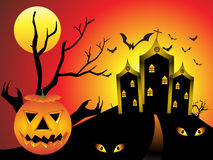 Abstract halloween background Royalty Free Stock Photography