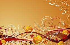 Abstract halloween background Stock Images