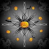 Abstract halloween background Stock Photos