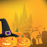Abstract halloween background,. Illustration Royalty Free Stock Photos