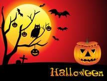 Abstract Halloween behang Stock Foto's