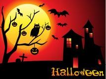 Abstract Halloween behang Royalty-vrije Stock Foto's
