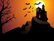 Abstract Halloween behang Stock Afbeeldingen