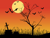 Abstract Halloween behang Royalty-vrije Stock Afbeelding