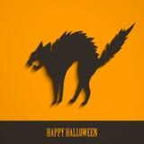 Abstract Halloween-Ontwerp Stock Fotografie