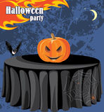 Abstract Halloween party background. Illustration Royalty Free Stock Images