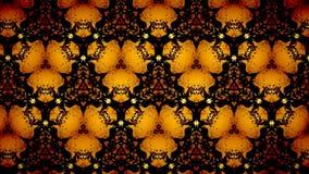 Abstract Halloween-patroonbehang Royalty-vrije Stock Fotografie