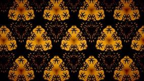Abstract Halloween-patroonbehang Stock Foto's