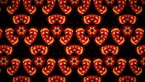 Abstract Halloween-patroonbehang Stock Afbeelding