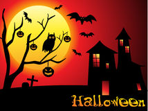 Abstract halloween wallpaper Royalty Free Stock Photos