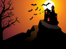 Abstract halloween wallpaper Stock Images