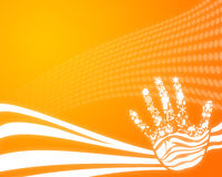 Abstract hand Stock Images