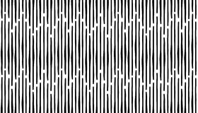 Abstract hand draw seamless stripes pattern. Black vertical line Stock Images