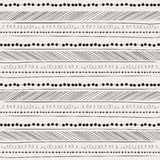 Abstract hand drawing pattern.  background. Stock Photos