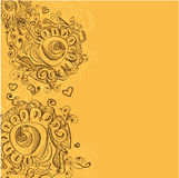 Abstract hand-drawn background Royalty Free Stock Photos