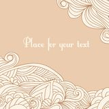 Abstract hand drawn background in pastel colors Royalty Free Stock Photo