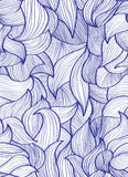 Abstract hand-drawn background, Seamless pattern Royalty Free Stock Images