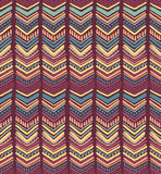 Abstract hand-drawn ethnic pattern, tribal background. Stock Photos